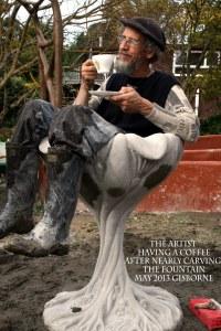 peter in fountain Gisborne IMG_8857 copy